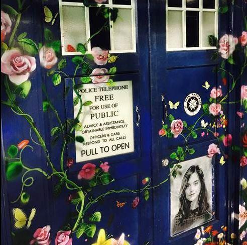 Clara's TARDIS Memorial